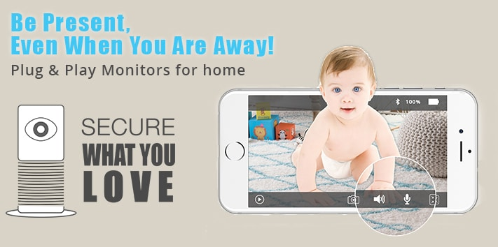 IP-Camera baby and home monitor